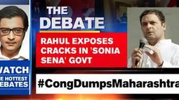 RAHUL EXPOSES CRACKS IN 'SONIA SENA' GOVT