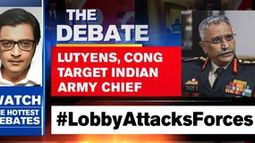 LUTYENS, CONG TARGET INDIAN ARMY CHIEF