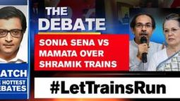 SONIA SENA VS MAMATA OVER SHRAMIK TRAINS