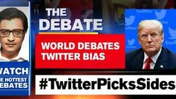 World debates Twitter bias