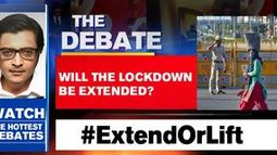 Will the lockdown be extended?