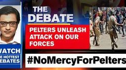 Pelters unleash attack on our forces
