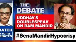Uddhav's doublespeak on Ram mandir