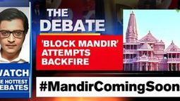 'Block mandir' attempts backfire