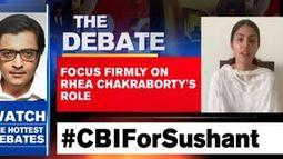 Focus firmly on Rhea Chakraborty's role