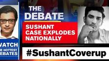 Sushant case explodes nationally