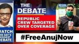 Republic crew targeted over coverage