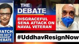 Disgraceful Sena attack on naval veteran