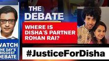 Where is Disha's partner Rohan Rai?