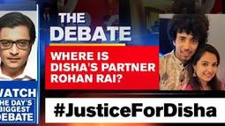 Where is Disha's partner Rohan Rai?