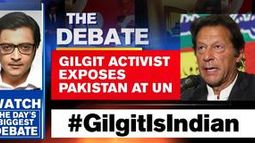 Gilgit activist exposes Pakistan at UN