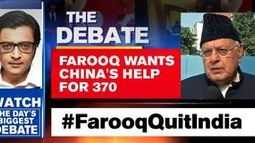 Farooq wants China's help for 370