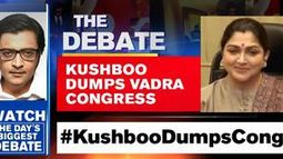 Kushboo dumps Vadra congress