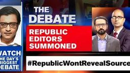 Republic Editors Summoned