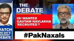 ISI wanted Gautam Navlakha 'recruited'?