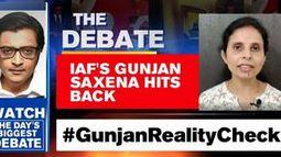 IAF's Gunjan Saxena hits back
