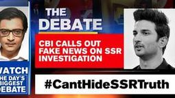 CBI calls out fake news on SSR investigation