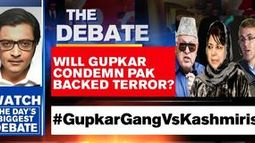Will Gupkar condemn Pak backed terror?