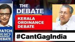 Kerala ordinance debate