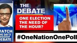 'One nation, one election' debate