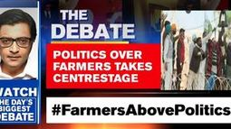 Politics over farmers takes centrestage
