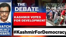 Kashmir votes for development