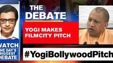 Yogi makes filmcity pitch