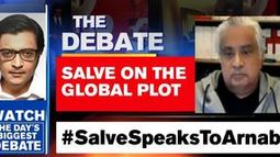 Harish Salve speaks to Arnab on the Tool Kit Plot