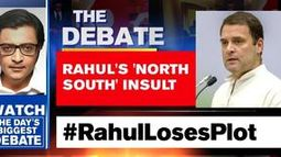 Rahul Gandhi sparks 'north vs south' debate