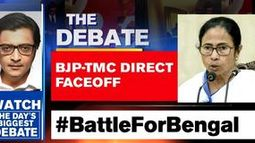 BJP-TMC direct faceoff