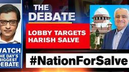 Harish Salve targetted for pro-nation position?
