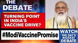 PM Modi takes charge of vaccination drive