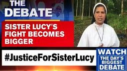 Retired Judge MF Saldanha supports Sister Lucy's lone fight