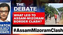Two versions emerge on the Assam-Mizoram border clash