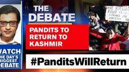 Kashmiri Pandits to return to valley