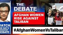 Afghan women hit the streets in protest against Taliban