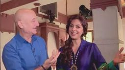 Juhi Chawla in Anupam Kher's people