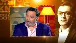 Rishi Kapoor Speaks To Arnab