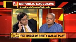 Jay Panda Speaks To Arnab