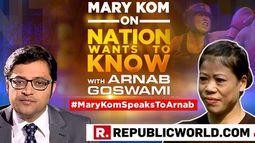 #MaryKomSpeaksToArnab