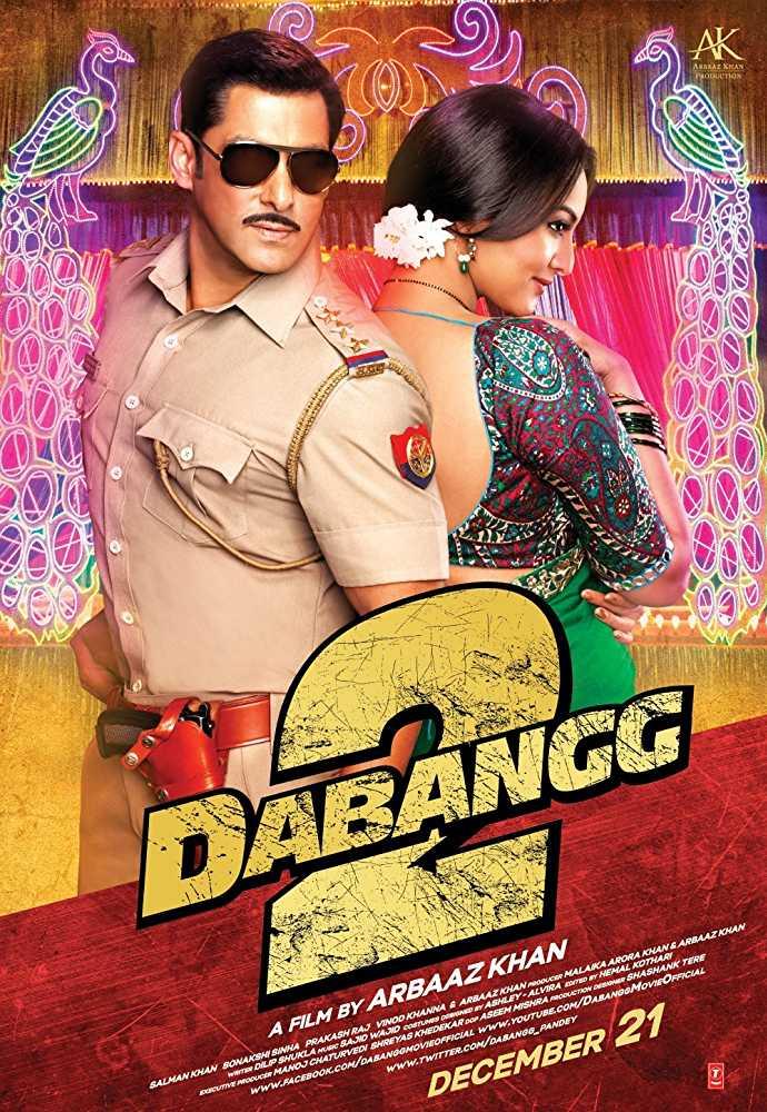 Sonakshi Sinha's look from Dabangg 2