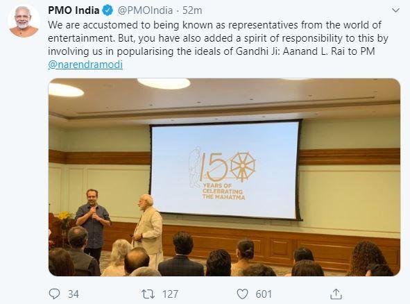 Years Of Celebrating The Mahatma