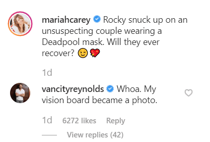 Ryan Reynolds comment