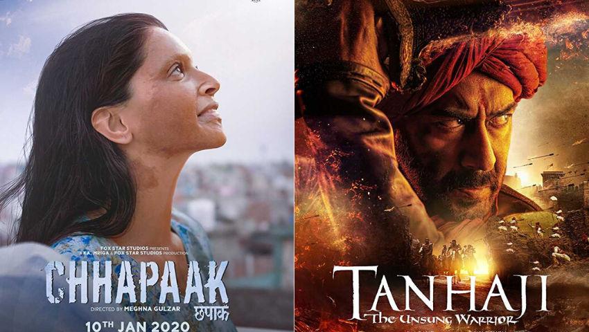 Chhapaak vs Tanhaji