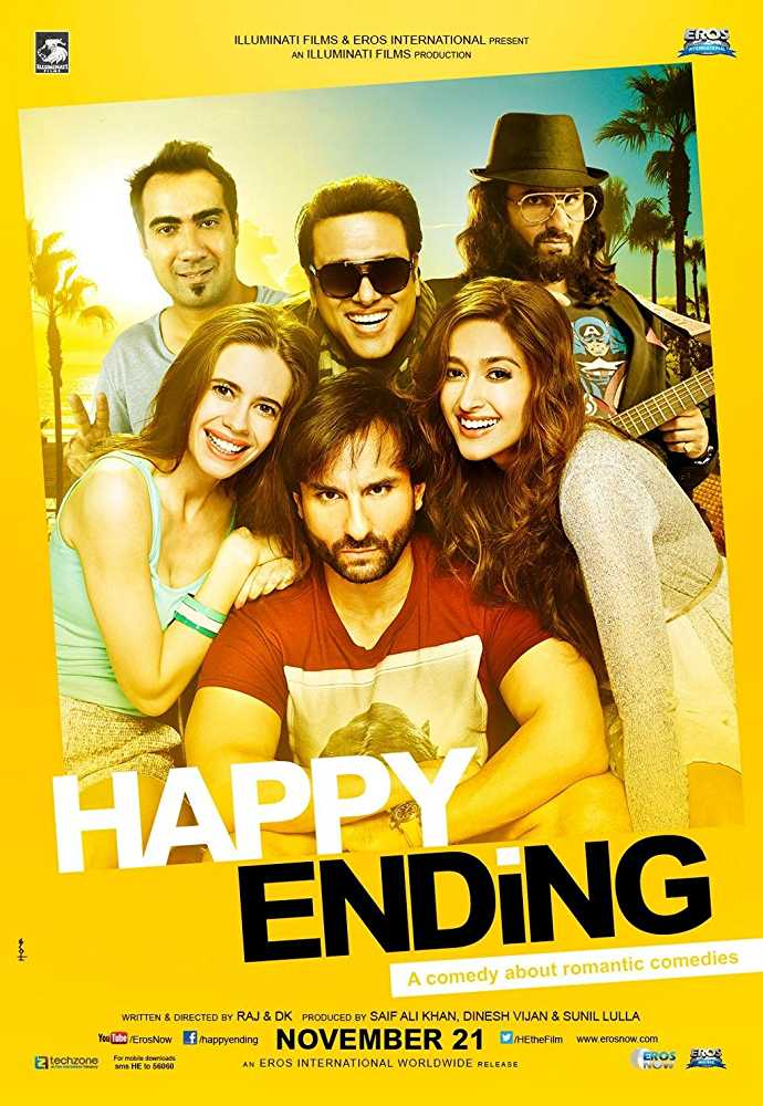 Happy Ending's poster