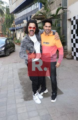 Varun Dhawan with Bhuvan Bam