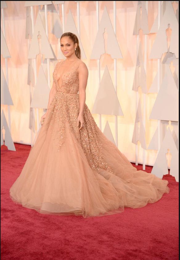 Jennifer Lopez 2015 Oscars
