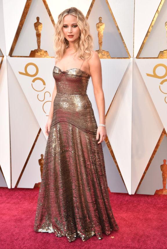 Jennifer Lawrence 2018 Oscars