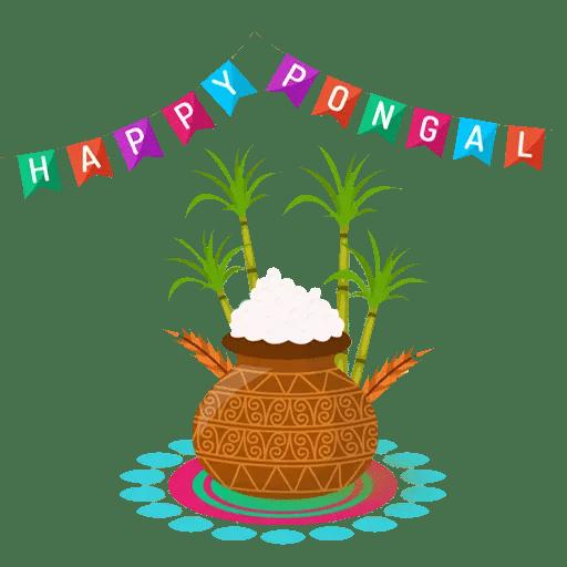 pongal whatsapp stickers