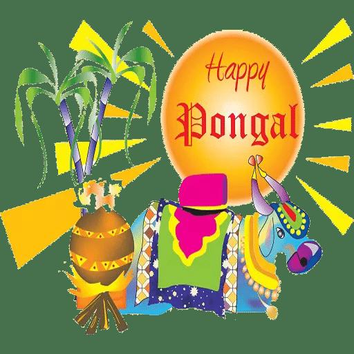 happy pongal stickers